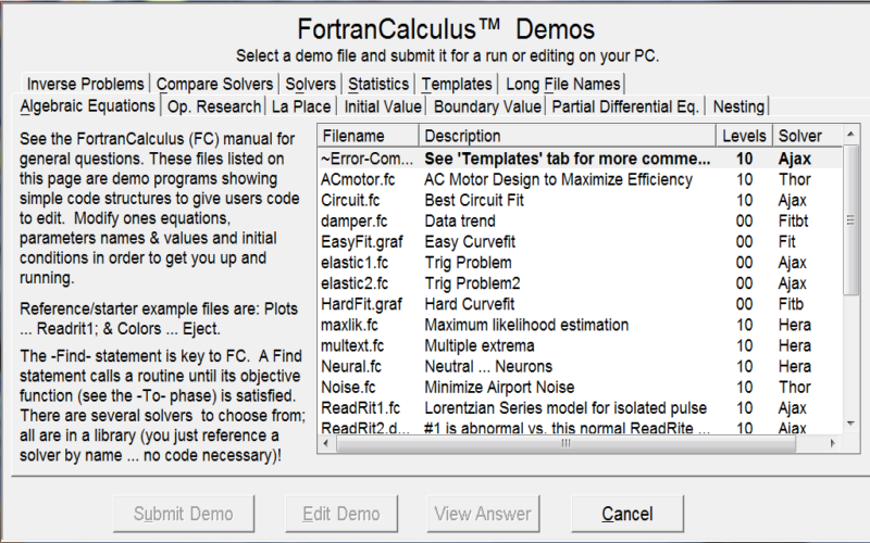 FC Compiler Screen shot